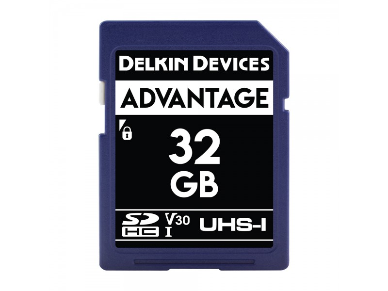 Delkin SD Advantage UHS-I U3 (V30) 32GB